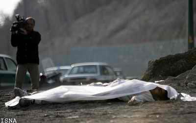 عکس: قتل در تقاطع همت ـ چمران