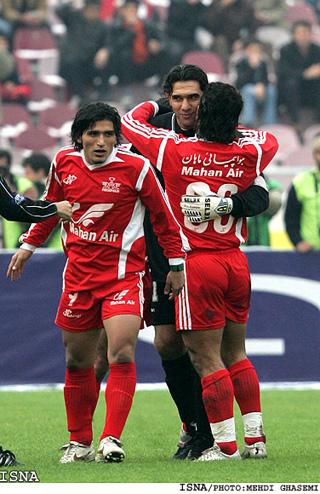 تصاویری از خداحافظی عابدزاده