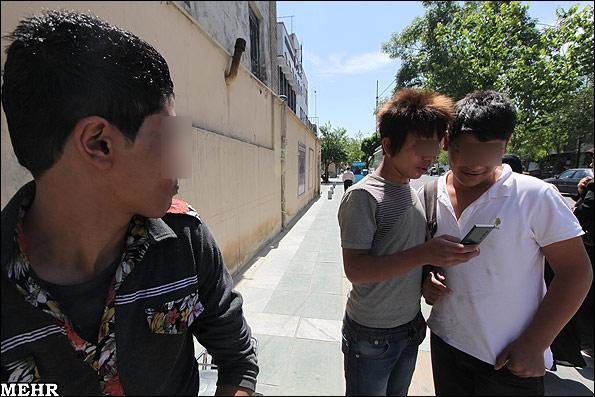 گزارش تصویری/ گسترش مد و الگوهای غربی در بین جوانان