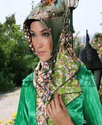 پوشش دخترانه جوان مسلمان ترکیه