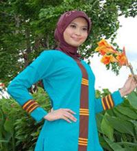 پوشش دخترانه  مسلمان اندونزی
