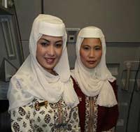 پوشش زنان  مسلمان برونئی