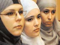 دختران مسلمان روس