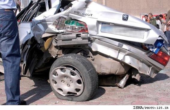 یک تصادف در پایتخت با چند روایت و آمار! تصاویر