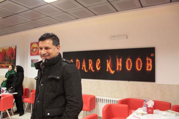 علی دایی رستورانش را افتتاح كرد +تصاویر