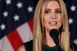 دختر ترامپ در جشن روز مادر املت سرو کرد