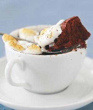 کیک شکلاتی گرم مخصوص عصرهای پاییزی! +عکس