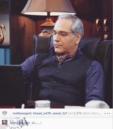 پیام اینستاگرامی مهران مدیری به هوادارانش +عکس