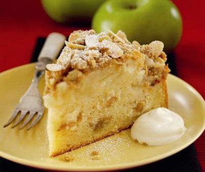 کیک سیب خوشمزه به سبک آلمانی! +عکس