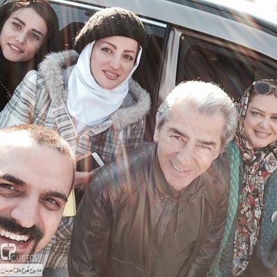 تصاویرجدید از پریناز ایزدیار ، بهاره رهنما ، فرامرز قریبیان و پسرش