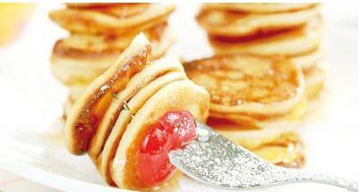 پنکیک سیب با عسل یک صبحانه فوق العاده! +عکس