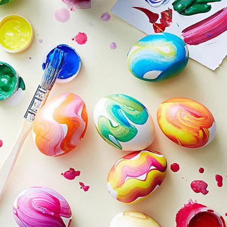 تخم مرغ رنگارنگ عید +تصاویر